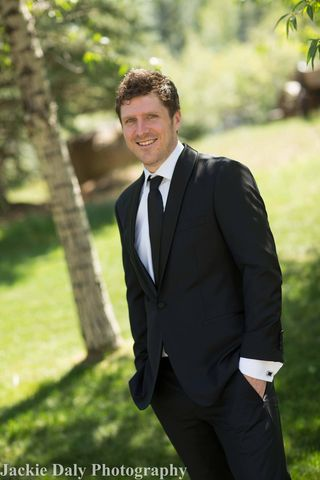 Aspen wedding photography snowmass club handsome groom
