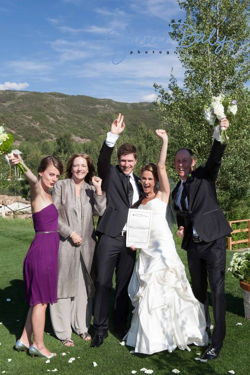 Aspen wedding photography snowmass club marriage license