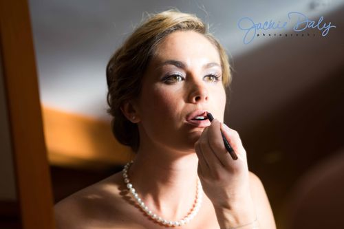 Aspen wedding photography snowmass club bride with makeup