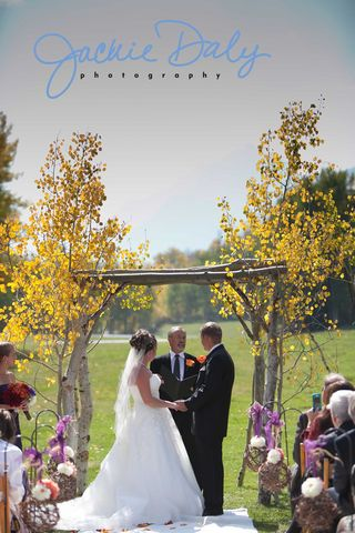 aspen wedding photography T Lazy 7 Ranch ceremony